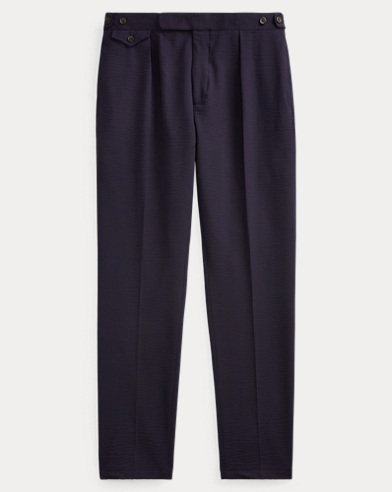 Stretch Wool-Blend Trouser