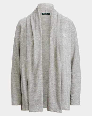 Stretch Cotton-Modal Cardigan