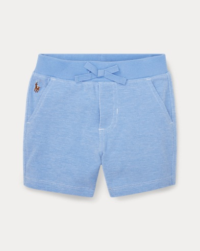 Knit Cotton Oxford Short