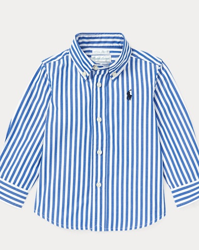 Bengal-Stripe Cotton Shirt