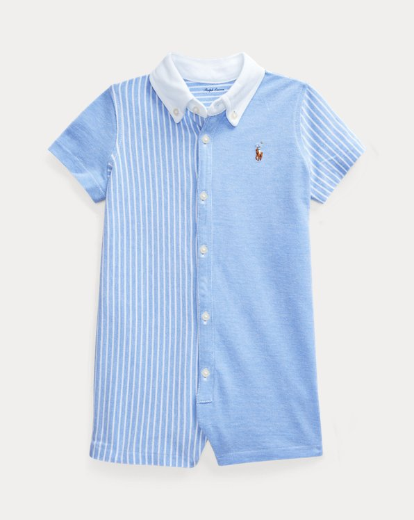 Knit Oxford Fun Shortall