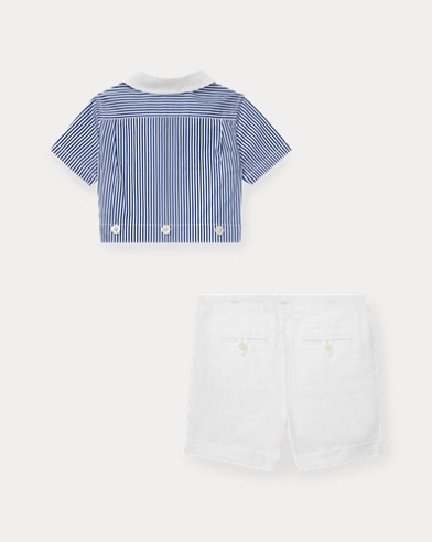 1d6f0960fb Personalised Baby Boy Gifts & Outfits | Ralph Lauren UK