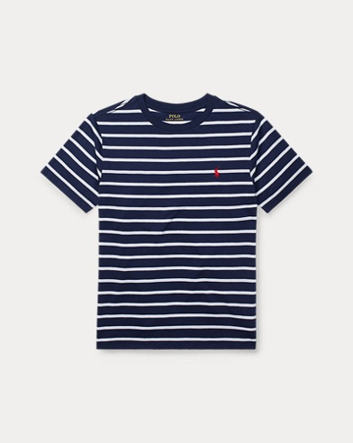 Striped Cotton-Blend T-Shirt
