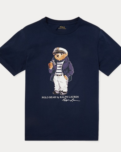 Captain Bear Cotton Tee