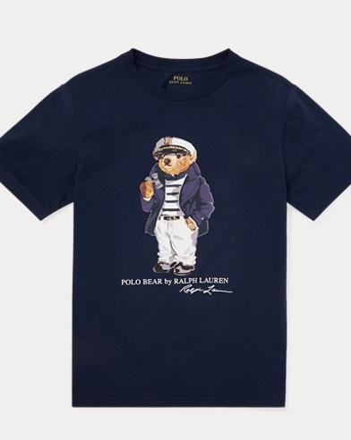 Maglietta in cotone Captain Bear