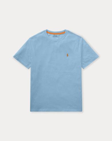 Maglietta a girocollo in jersey