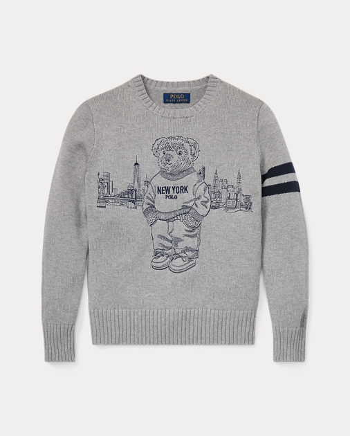 Pullover Mit New York Polo Bear