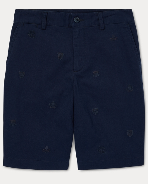a47dc3206d BOYS 6-14 YEARS Slim Fit Stretch Chino Short 1