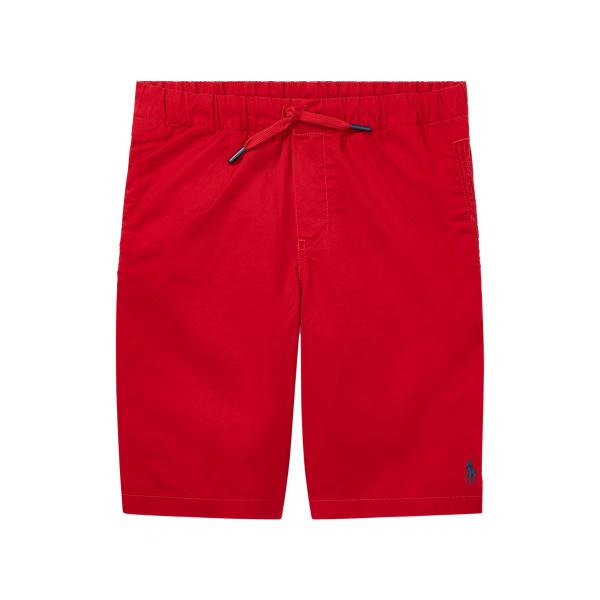 폴로 랄프로렌 보이즈 반바지 Polo Ralph Lauren Cotton Chino Pull-On Short,RL 2000 Red
