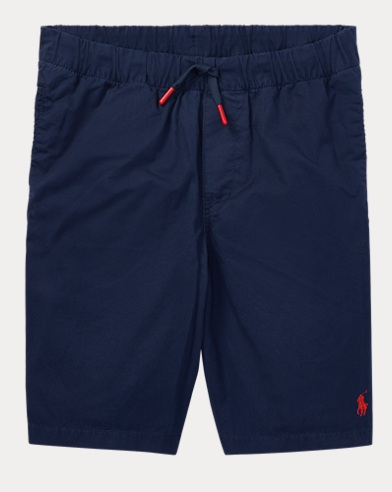 Cotton Chino Pull-On Short