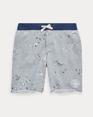 Twill Terry Graphic Shorts