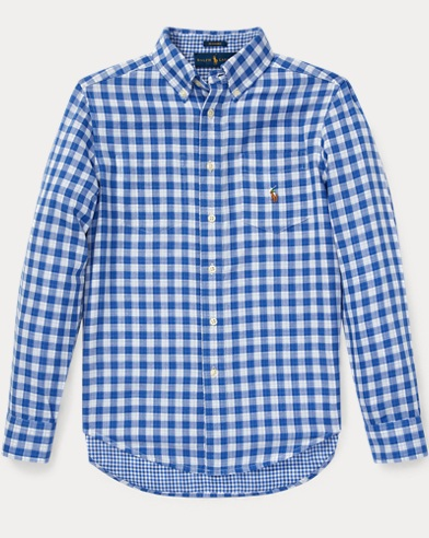 Reversible Gingham Shirt