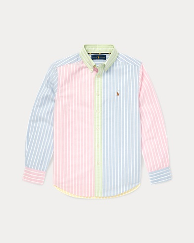 Striped Cotton Fun Shirt