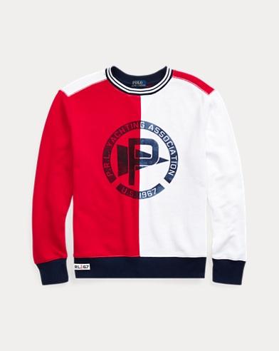 Twill Graphic Sweatshirt