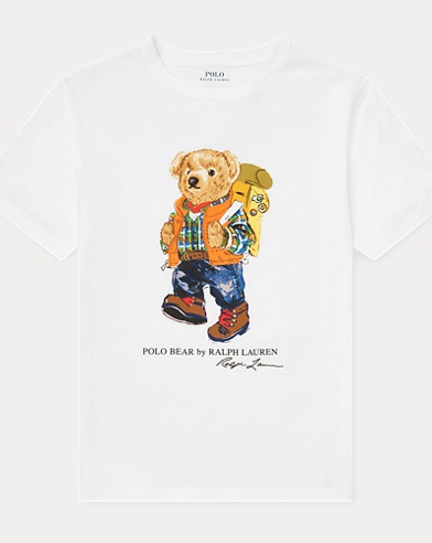 Camping Bear Cotton Tee