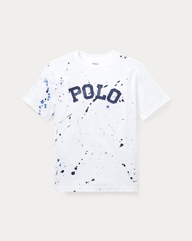 Paint-Splatter Cotton Tee