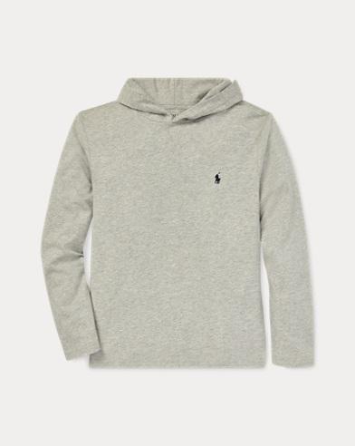Camisetade punto jersey con capucha