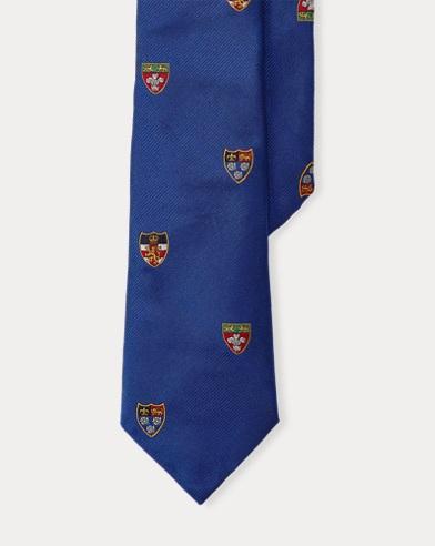 Cravate club en soie