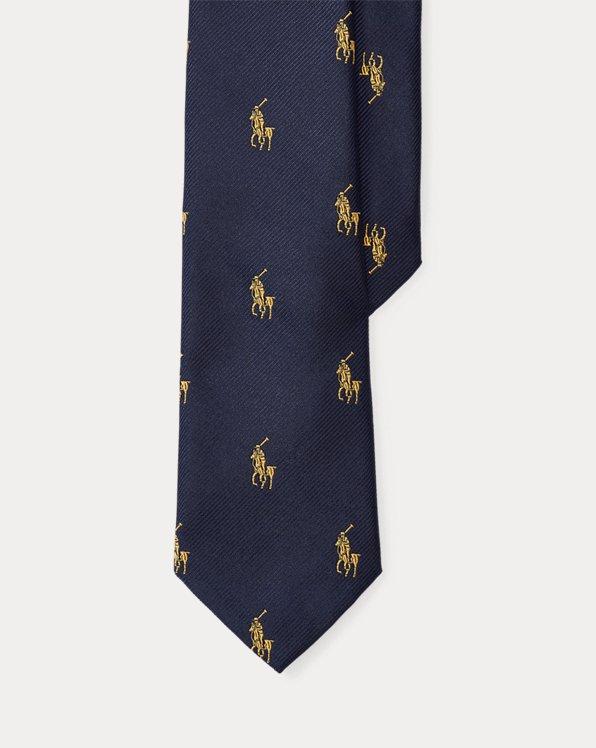 Pony Player Silk Tie