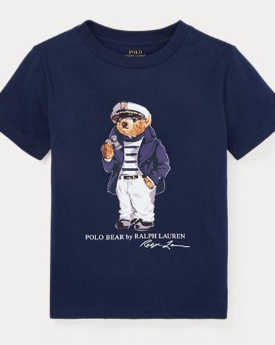 T-shirt en coton ourson nautique