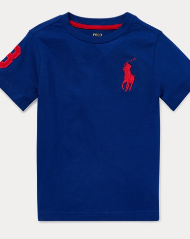 8e89d4ef4e03 Big Pony Cotton Jersey Tee