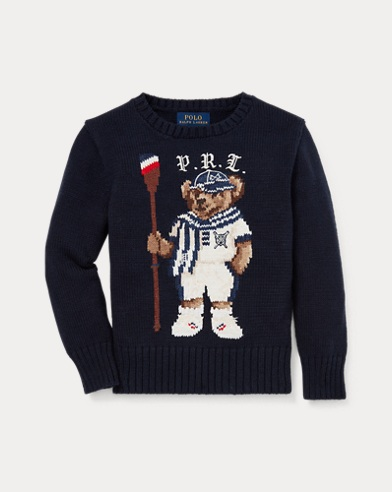 da98a0be56 Rowing Bear Cotton Sweater