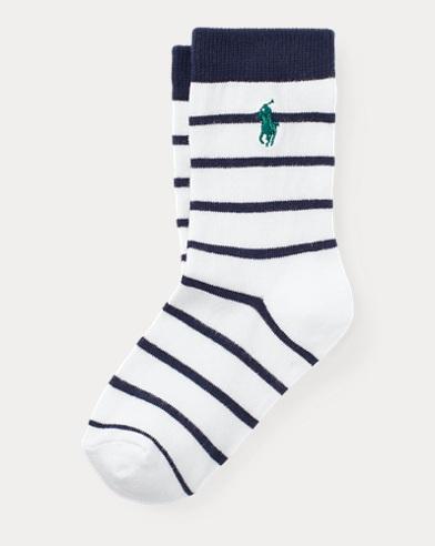 Chaussettes de sport stretch rayées