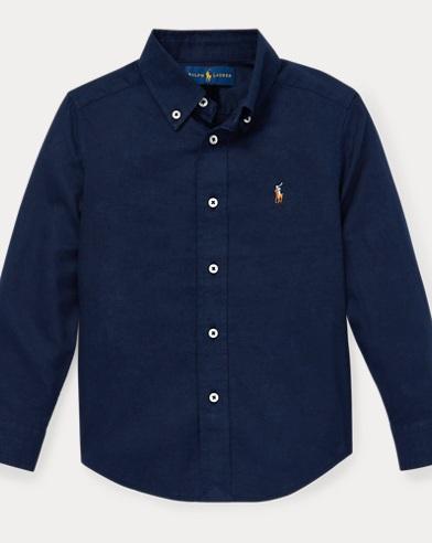 Baumwollleinen-Hemd