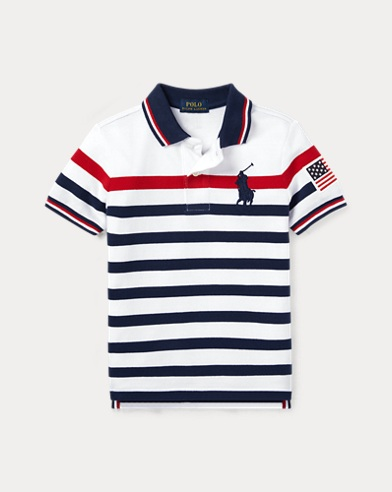 64b8d079c2 Boys' Polo Shirts - Short & Long Sleeve Polos | Ralph Lauren