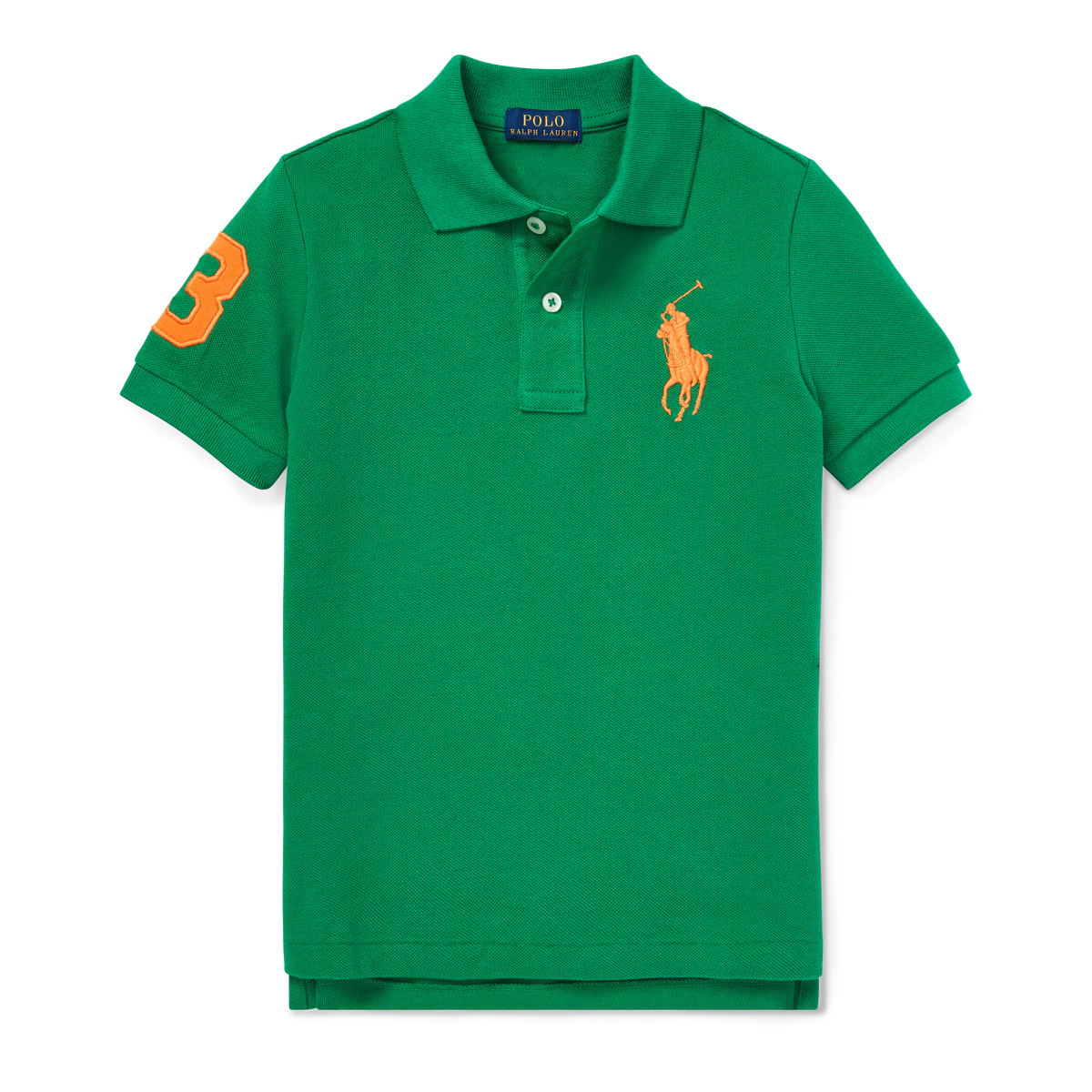 c7854ba2 Cotton Mesh Polo Shirt | Short Sleeve Polo Shirts | Ralph Lauren