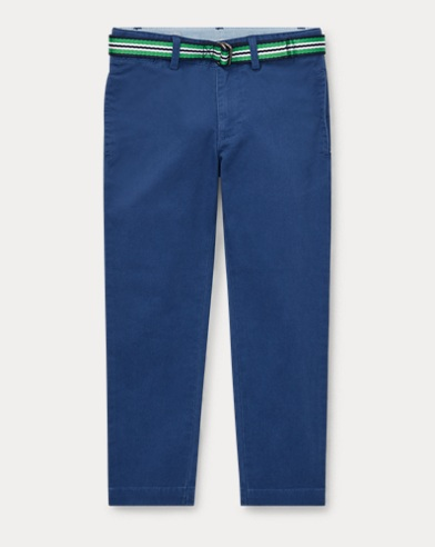 Belted Super Skinny Chino