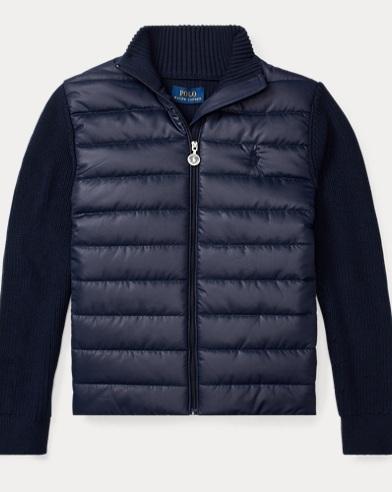 Quilted Hybrid Jumper Jacket