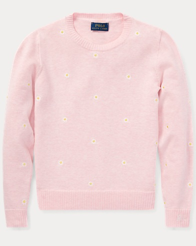 Embroidered Cotton Jumper