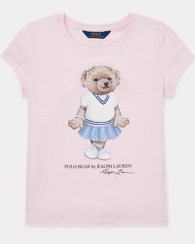 Cricket Bear Cotton T-Shirt
