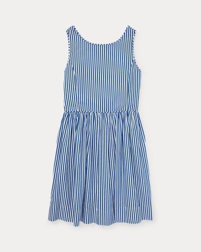 Bengal-Stripe Cotton Dress