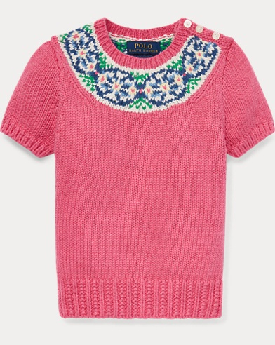 Fair Isle Cotton Sweater