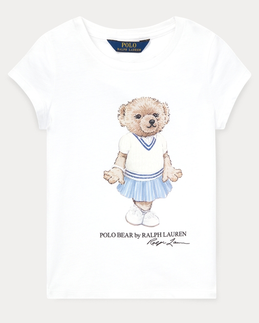 ffa83d7af Girls 2-6x Cricket Bear Cotton Tee 1