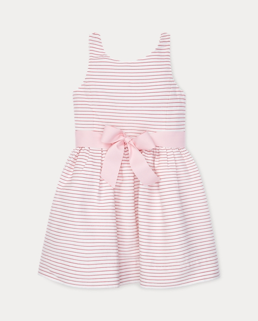 Girls 2-6x Striped Fit-and-Flare Dress 1