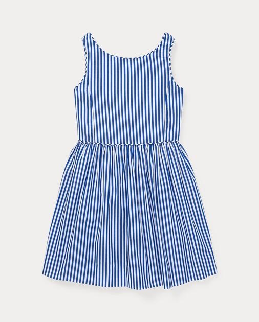 GIRLS 1.5-6.5 YEARS Bengal-Stripe Cotton Dress 1