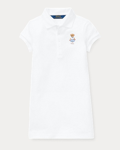Mesh-Kleid mit Cricket Bär