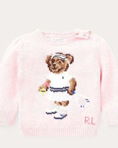 Tennis Bear Sweater