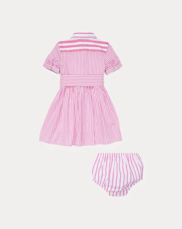 Striped Dress & Bloomer