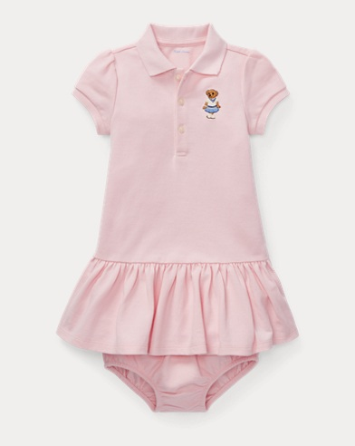 Cricket Bear Polo Dress