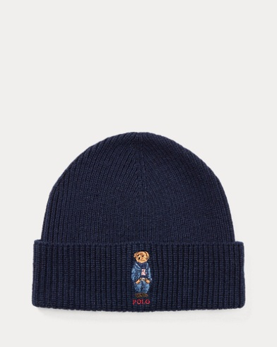 Polo Bear Knit Hat
