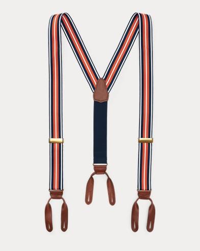 Striped Grosgrain Braces