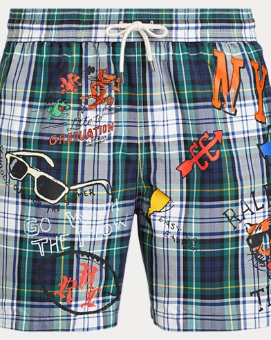 dcabbf67b6 Men's Swim Trunks, Bathing Suits, & Swimwear | Ralph Lauren