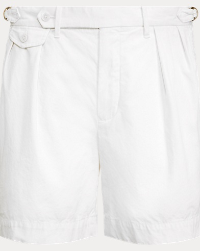 Classic Fit Pleated Short