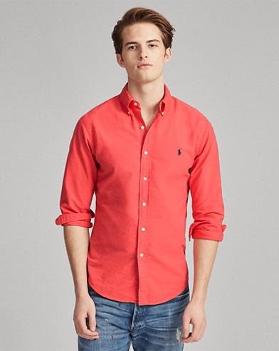80574ffd Men's Flannel Shirts, Button Downs, & Oxford Shirts | Ralph Lauren