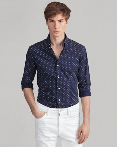 Classic Fit Anchor Shirt