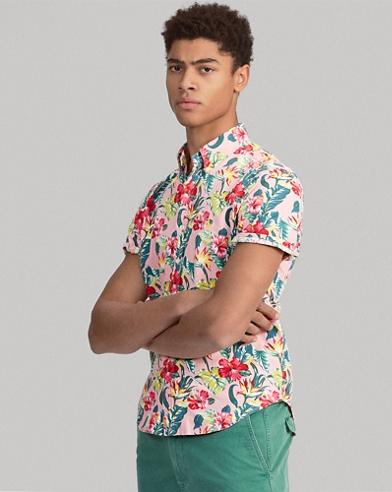Classic Fit Floral Shirt